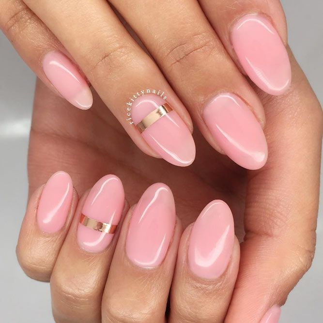 Rock The Round Nails Comfortable Shape Coolest Designs Nails