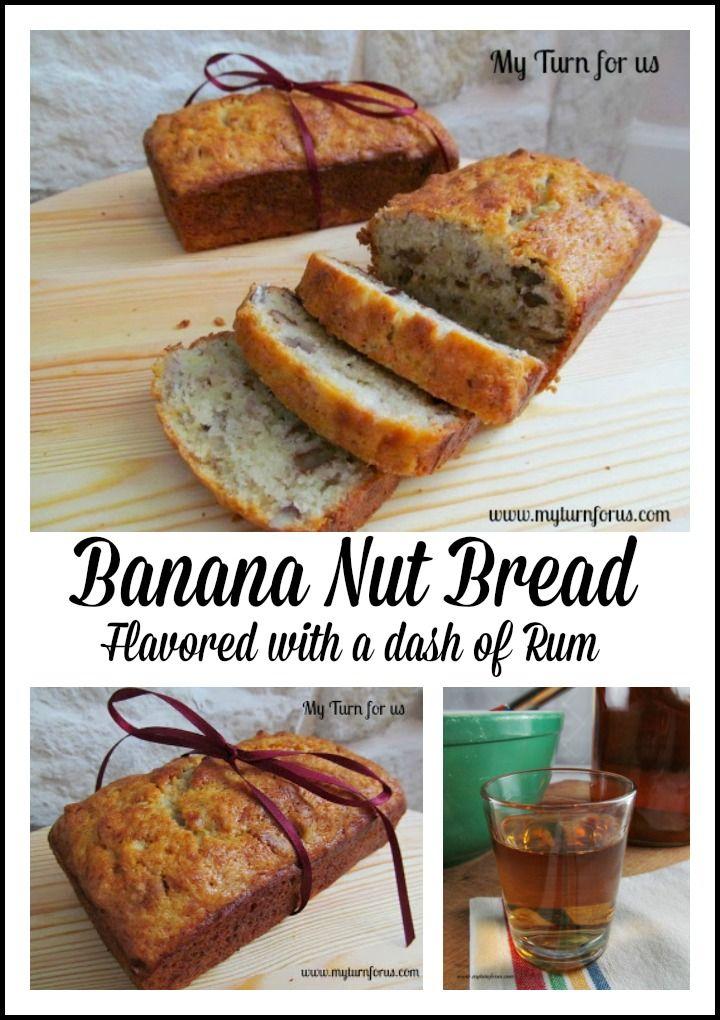 Homemade boozy banana nut bread with enhanced flavor by adding homemade boozy banana nut bread with enhanced flavor by adding spiced rum http forumfinder Choice Image