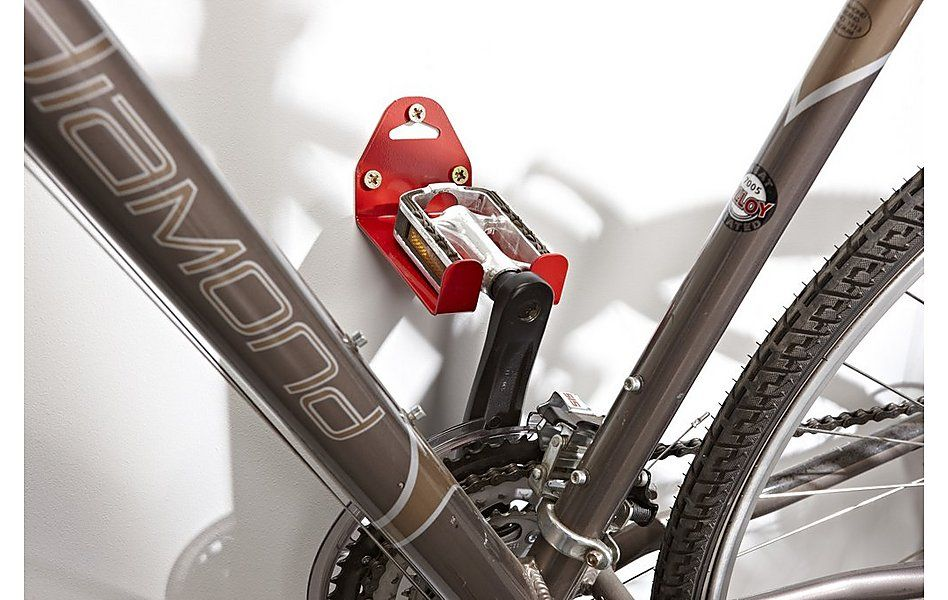 Mottez Bike Pedal Wall Mount Bike Storage Bicycle Storage