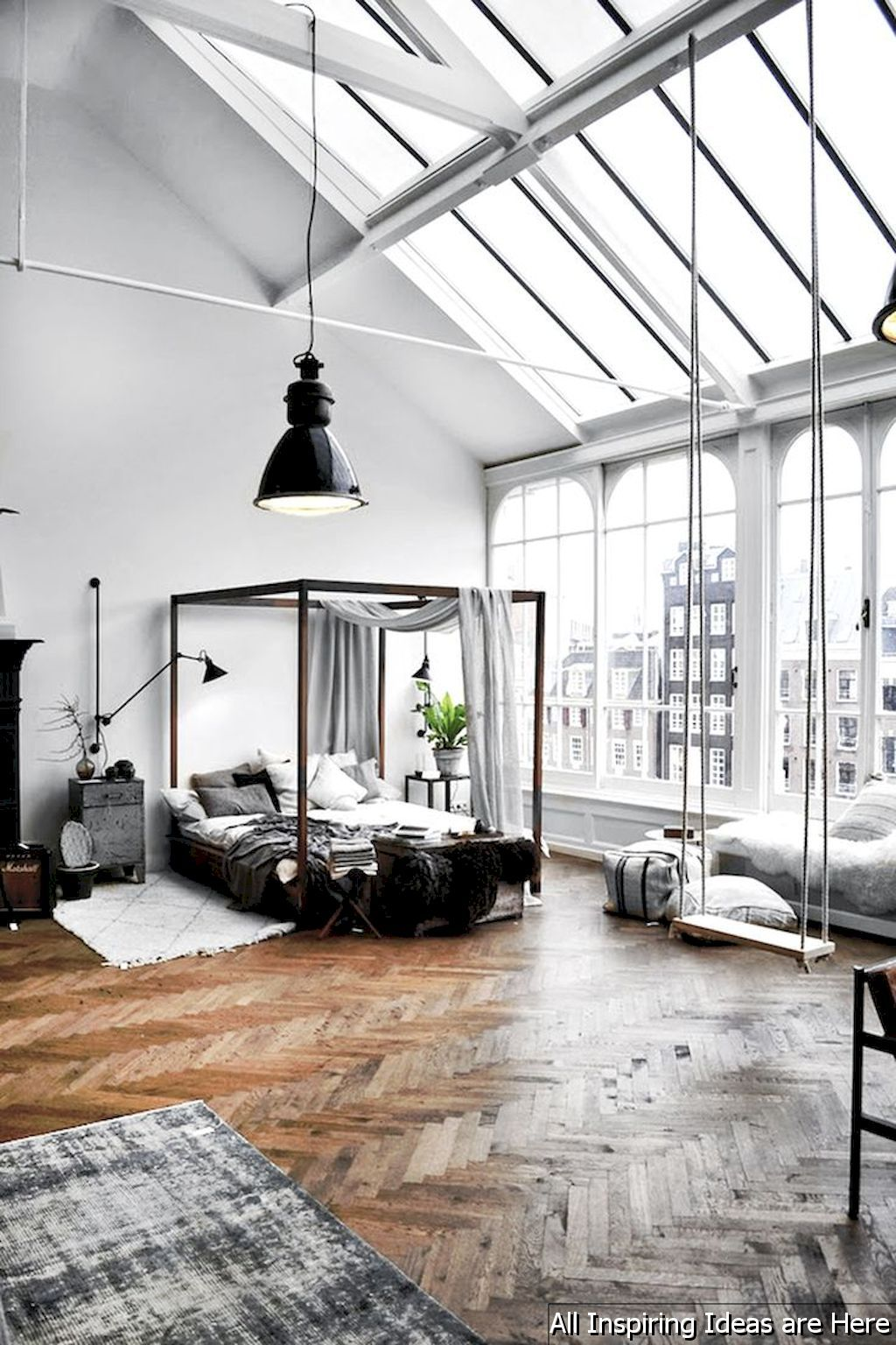 60 Stunning Loft Bedroom Design Ideas