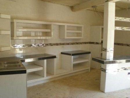 Servicios de alba ileria ceramica porcelanato drywall for Modelos de cocinas empotradas en cemento y porcelanato
