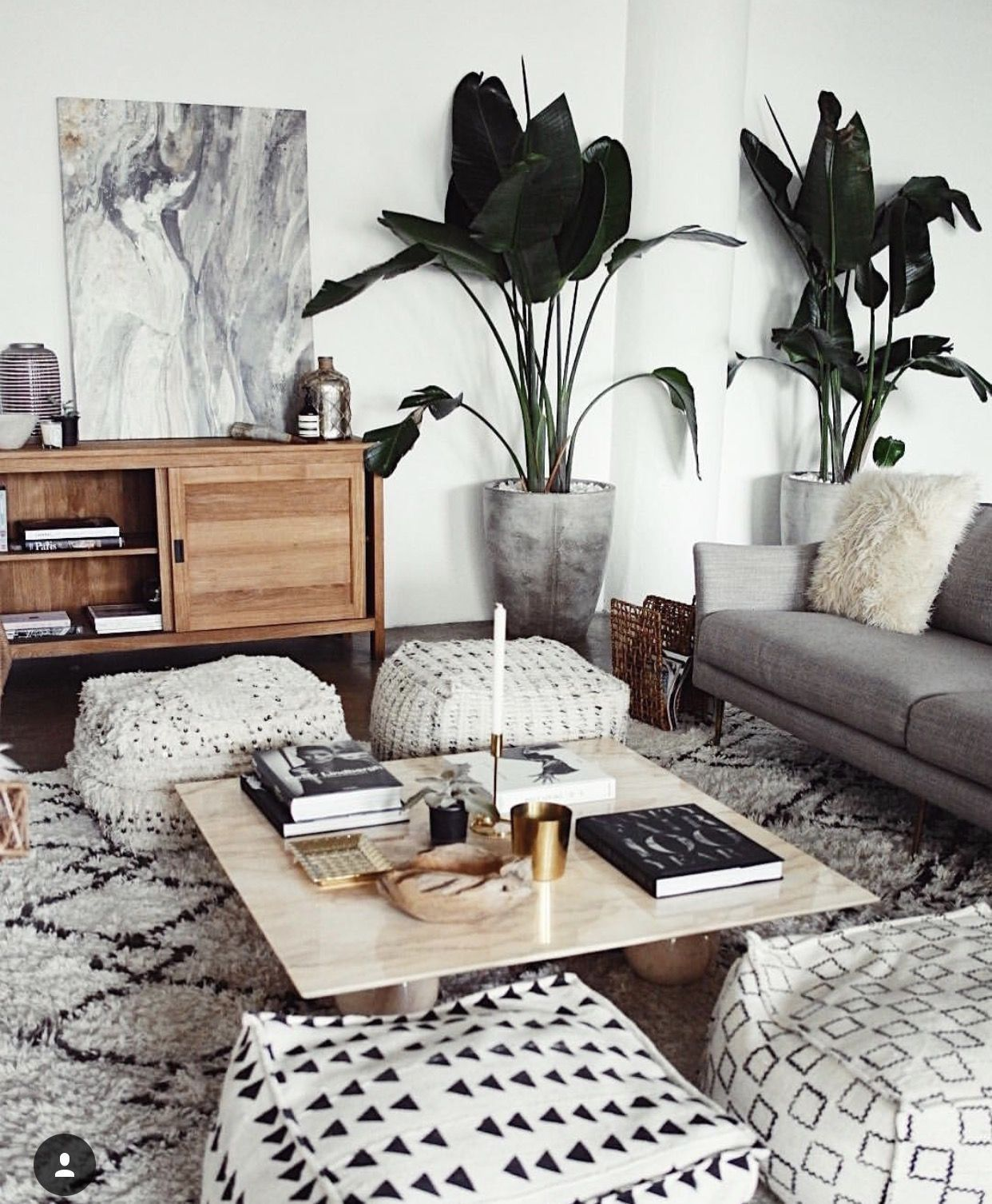 Unique Modern Black and White Living Room Grey Couches Black And ...