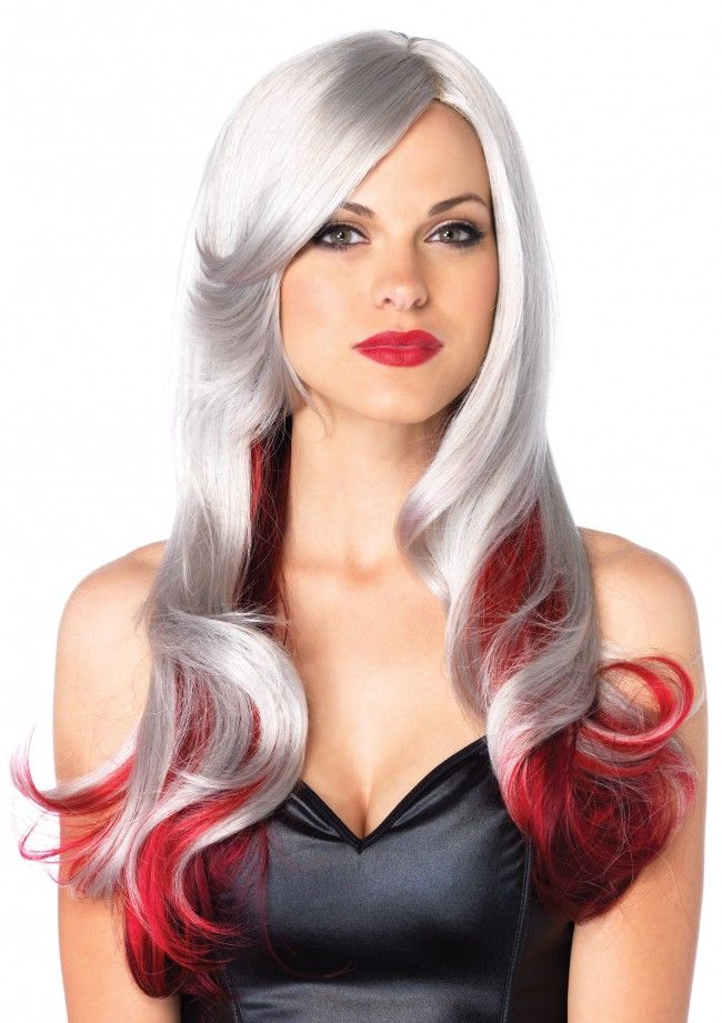 Allure Ombre Wig Grey Wiggray Hairred