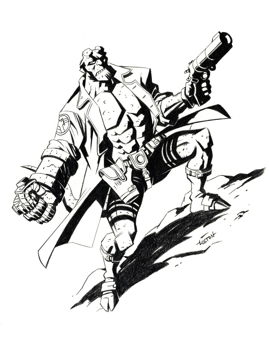Coloring Pages Hellboy Coloring Pages kid coloring and pages for kids on pinterest