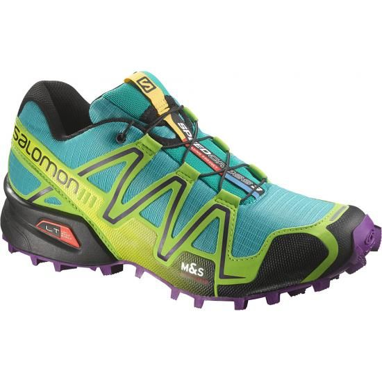 salomon speedcross 3 bright blue nails