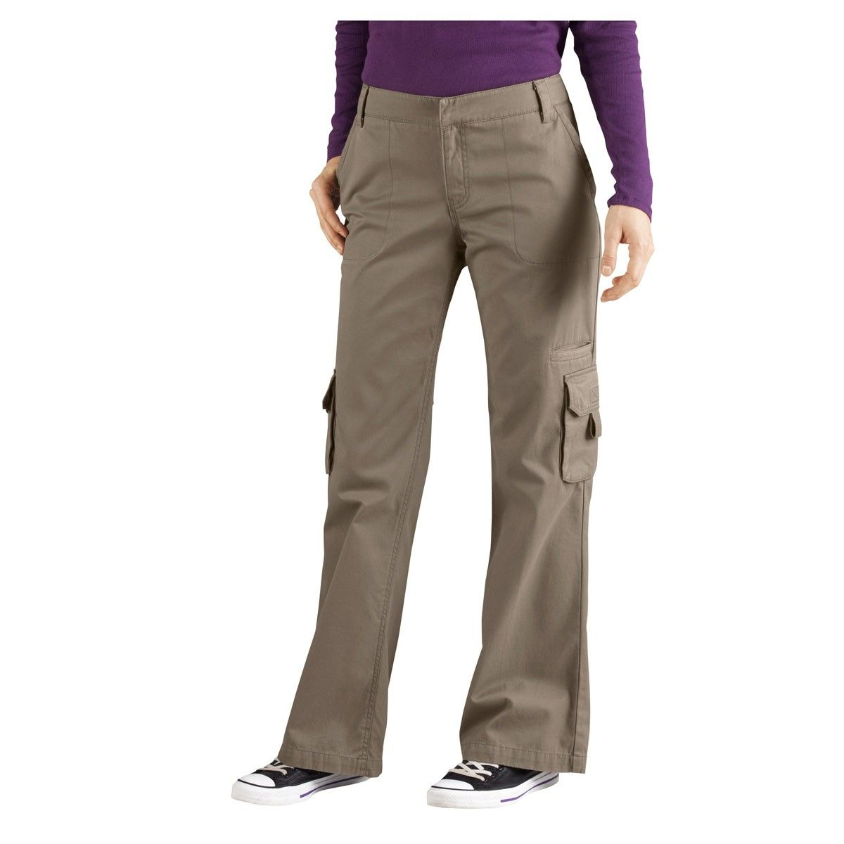 a2530e362cef Dickies Women s Relaxed Fit Straight Leg Cargo Pants - FP777