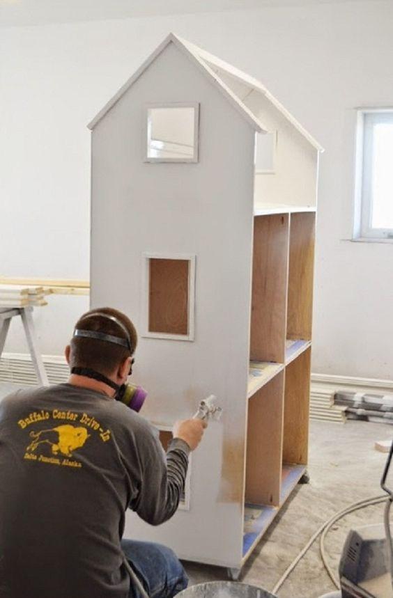 """18"""" Doll House Plans #dollhouse"""