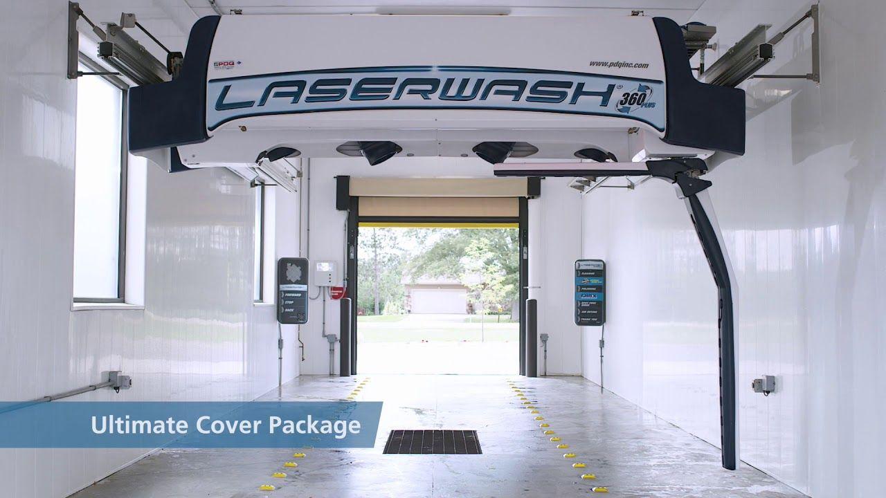 The LaserWash 360 Plus by PDQ Автомойка