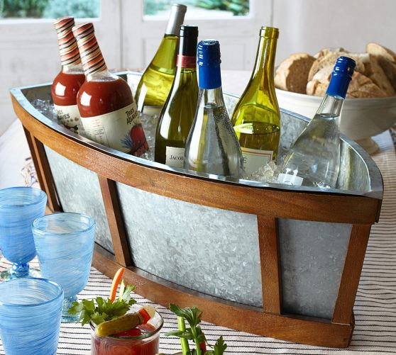 pottery barn boats for the table   MOTHER'S DAY IS MAY 11th