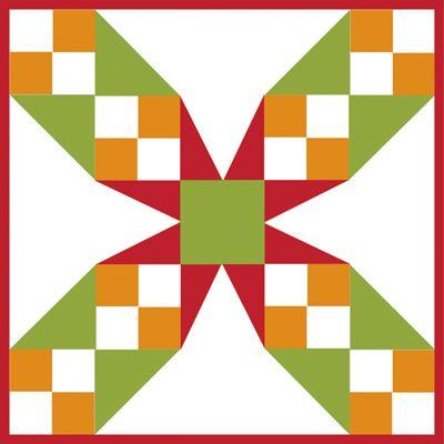 Free Barn Quilt Block Patterns   Tennessee Waltz – 9 inch block ... : free 9 inch quilt block patterns - Adamdwight.com