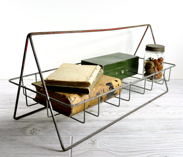 wire berry basket would make for a fun desk organizer | Office ...