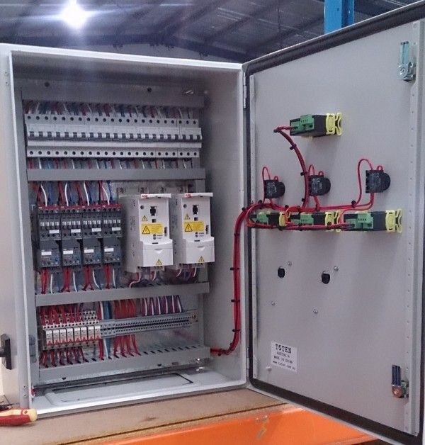 Manufactured In House To Australian Standards Our Electrical Control Panels Switchboards Can Be Designed To Ca Control Panels Electrical Projects Electricity