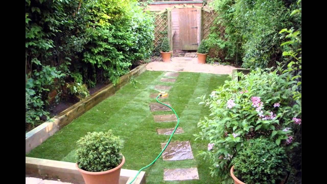 Small Space Garden Design Ideas Youtube Garden Design Garden Ideas Diy Garden Garden Projects Small Gardens An Landscape Structure Garden Backyard Garden