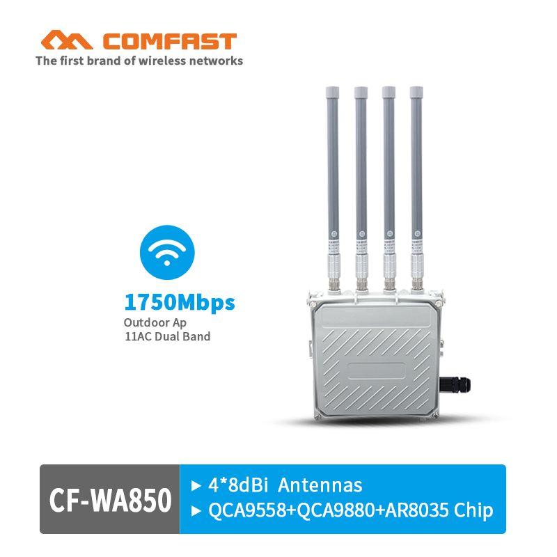 1750M gigabit wireless AP 500mW high power 802 11AC outdoor wifi
