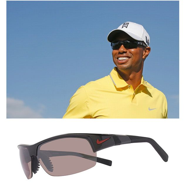 993a3229e6  TigerWoods wearing  Nike Show X2 sunglasses at the Abu Dhabi HSBC  Golf  Championship!