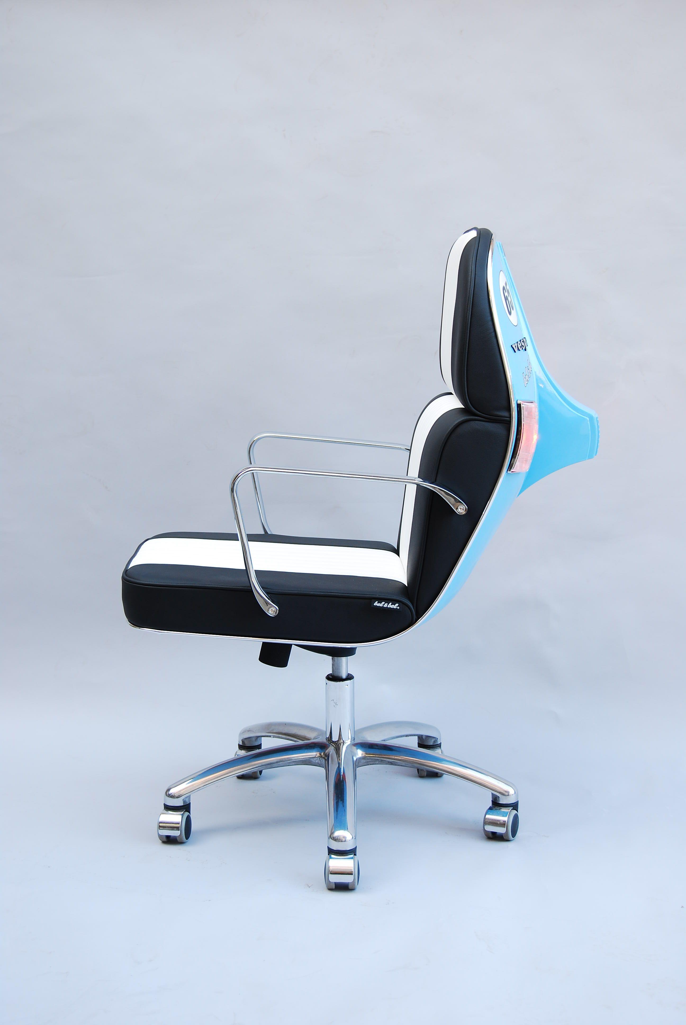 recycled vespa office chairs. Vespa Gulf Racing · RacingInternetVespaRecyclingOriginalsFurniture MotorcycleWaspHornet Recycled Office Chairs