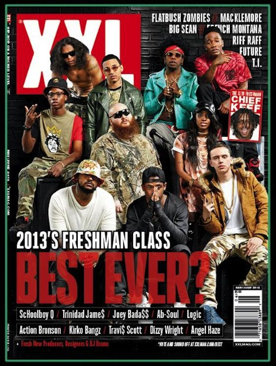 03b3e90109 Is the 2013 Class the Best XXL Freshman Class Ever   AngelHaze  ChiefKeef   JoeyBadass  ProEra  AbSOul  TDE  TrinidadJames  SchoolBoyQ  KirkoBangz   XXL2013 ...