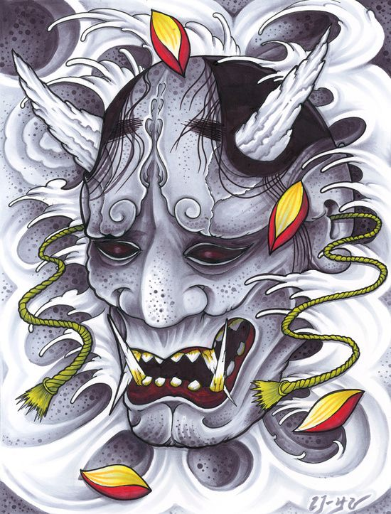 Japanese Hannya Tattoos Origins Meanings Ideas S