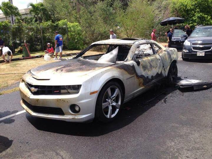 Rip Danno S Silver Chevy Camaro Hawaii Five O Hawaii Grace Park