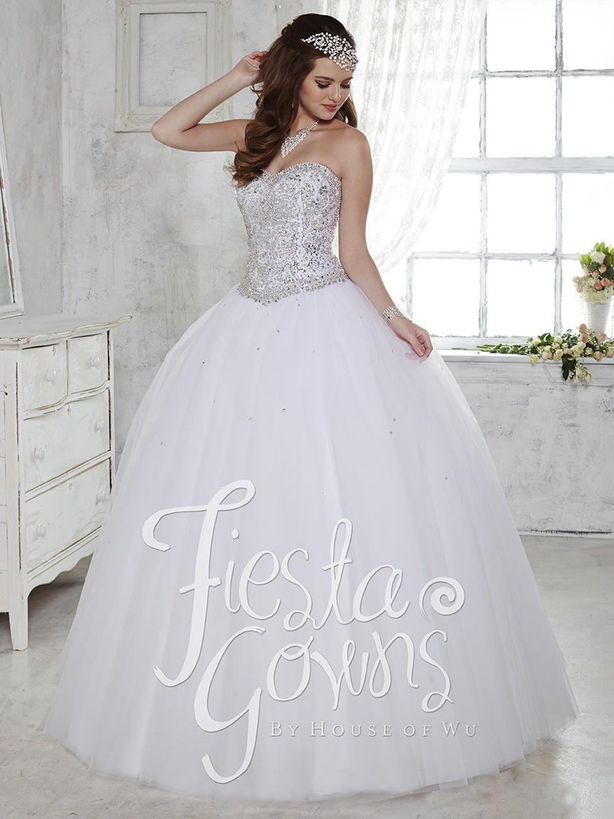 367118d8ac2 Fiesta Quinceañera Gown by  housewufashion style  56276 now available at  Dresses By Russo