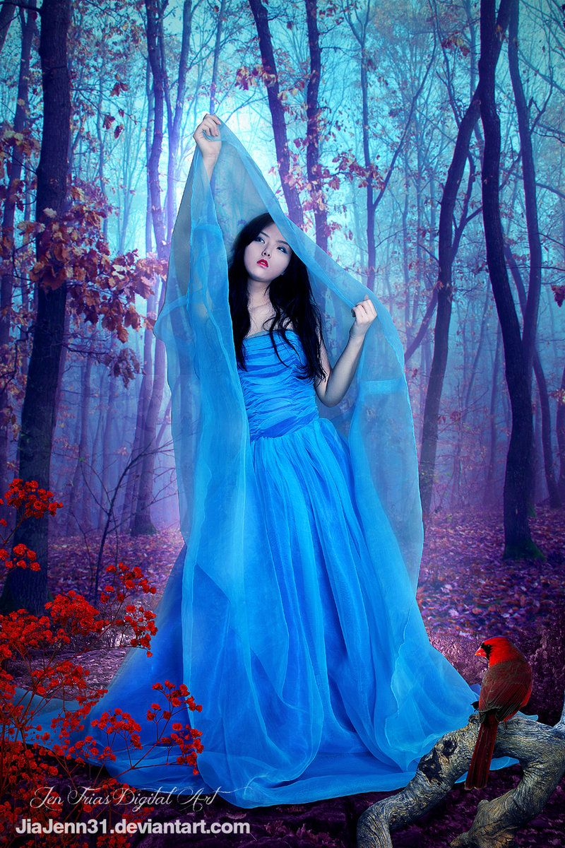 So So Blue By Jiajenn On Deviantart  Primavera