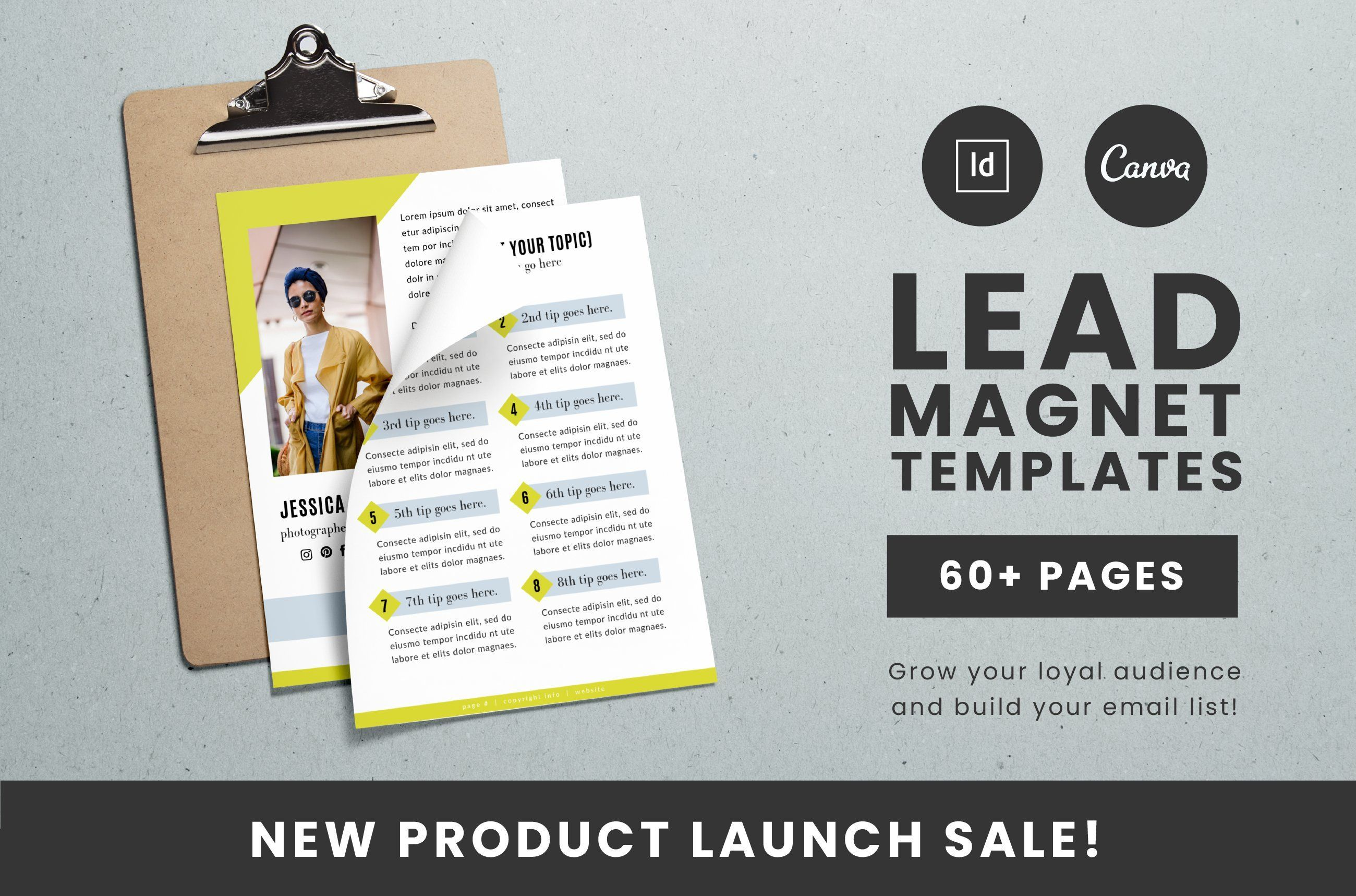List Building Lead Magnet Templates Want To Grow Your