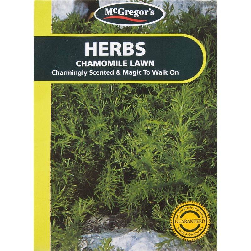 McGregor's Seed Herb Chamomile Lawn SKU 00217794