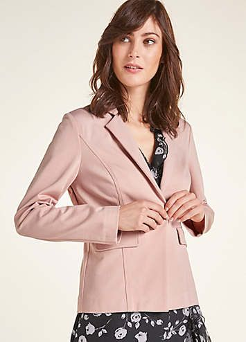 0dc106e1eea7 Heine Blazer Features: Long sleeves Dry clean only 70% Viscose, 25%  Polyamide