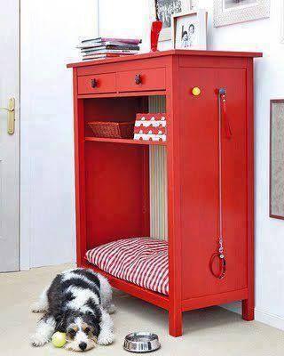 Dog Bed Cabinet