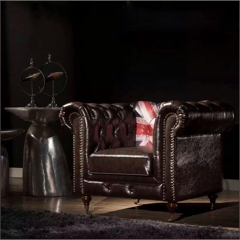 Singapore cheapest chesterfield sofa Industrial interior ...