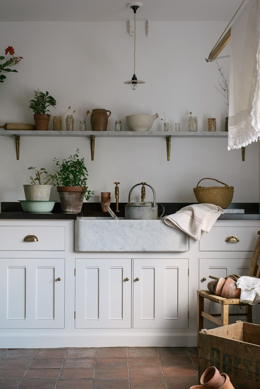 Photo of A Beautiful Country Style Laundry Room – Dear Designer