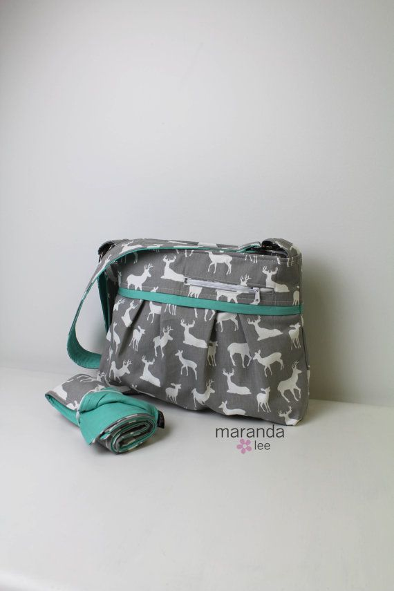Stella DELUXE Diaper Bag Set with Changing Mat by marandalee