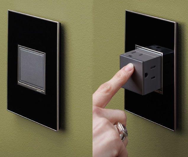 Pop Out Outlet Home Gadgets Innovation Design Design