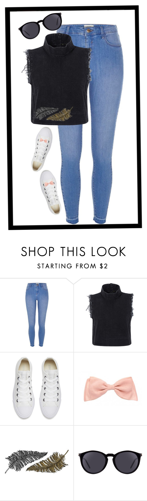 """""""Geen titel #296"""" by x-essie-x ❤ liked on Polyvore featuring River Island, Rachel Comey, Converse, Paperself, Yves Saint Laurent, MyStyle and back2school"""
