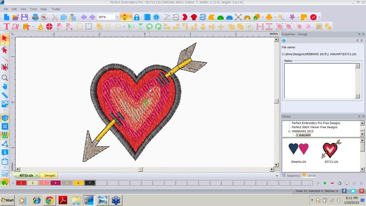 Dime Perfect Embroidery Pro Design Analysis Youtube In 2020 Embroidery Analysis Make It Yourself