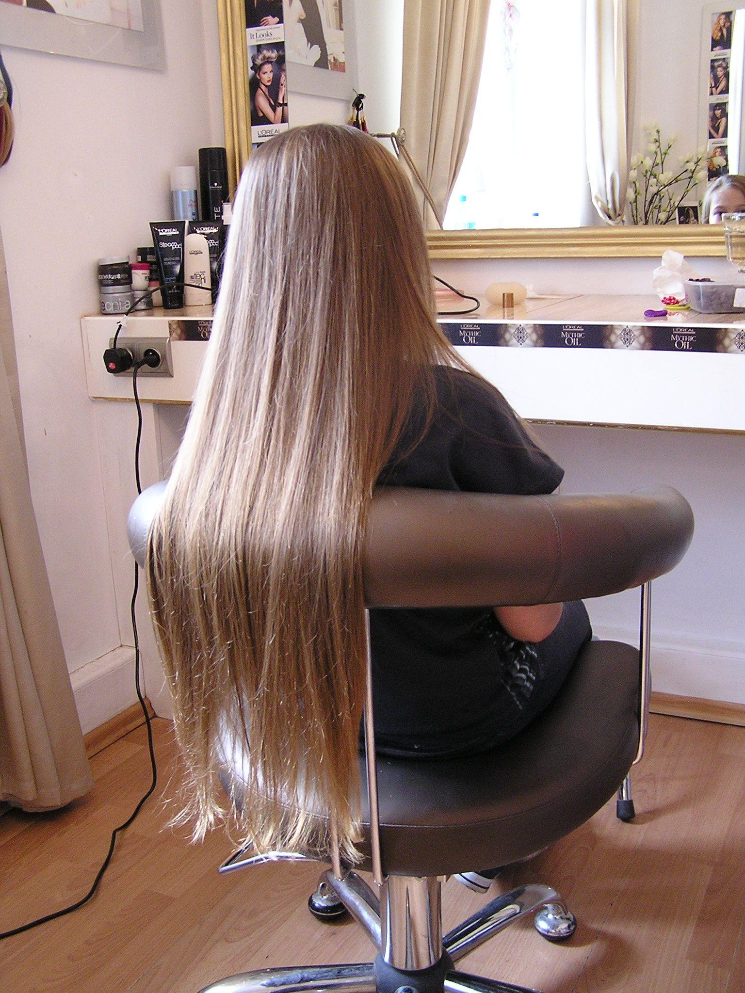 Długie Proste Włosy Fryzury Komunijne Hair Styles Long Hair