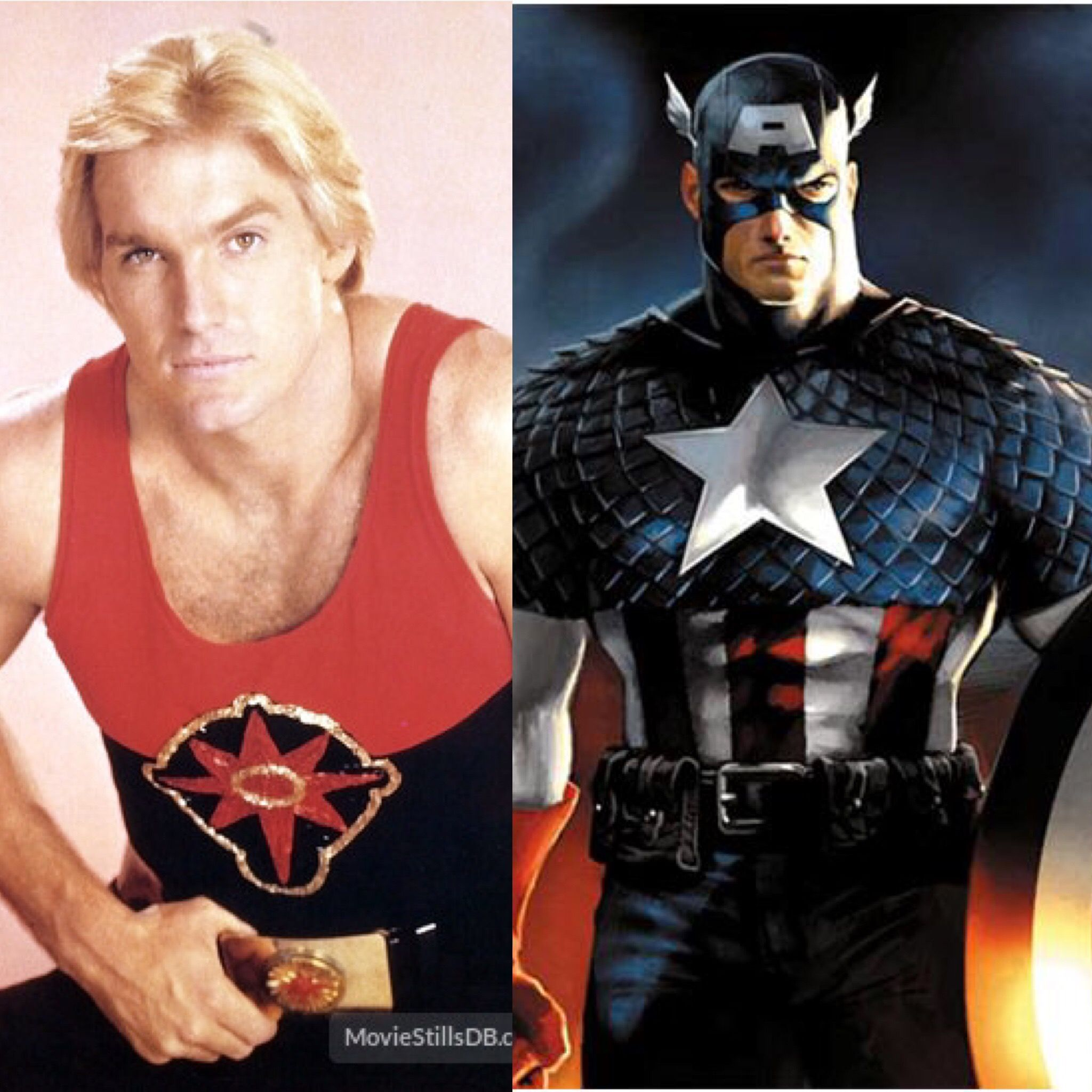 fan cast for 80's marvel movie (sam j. jones as captain america