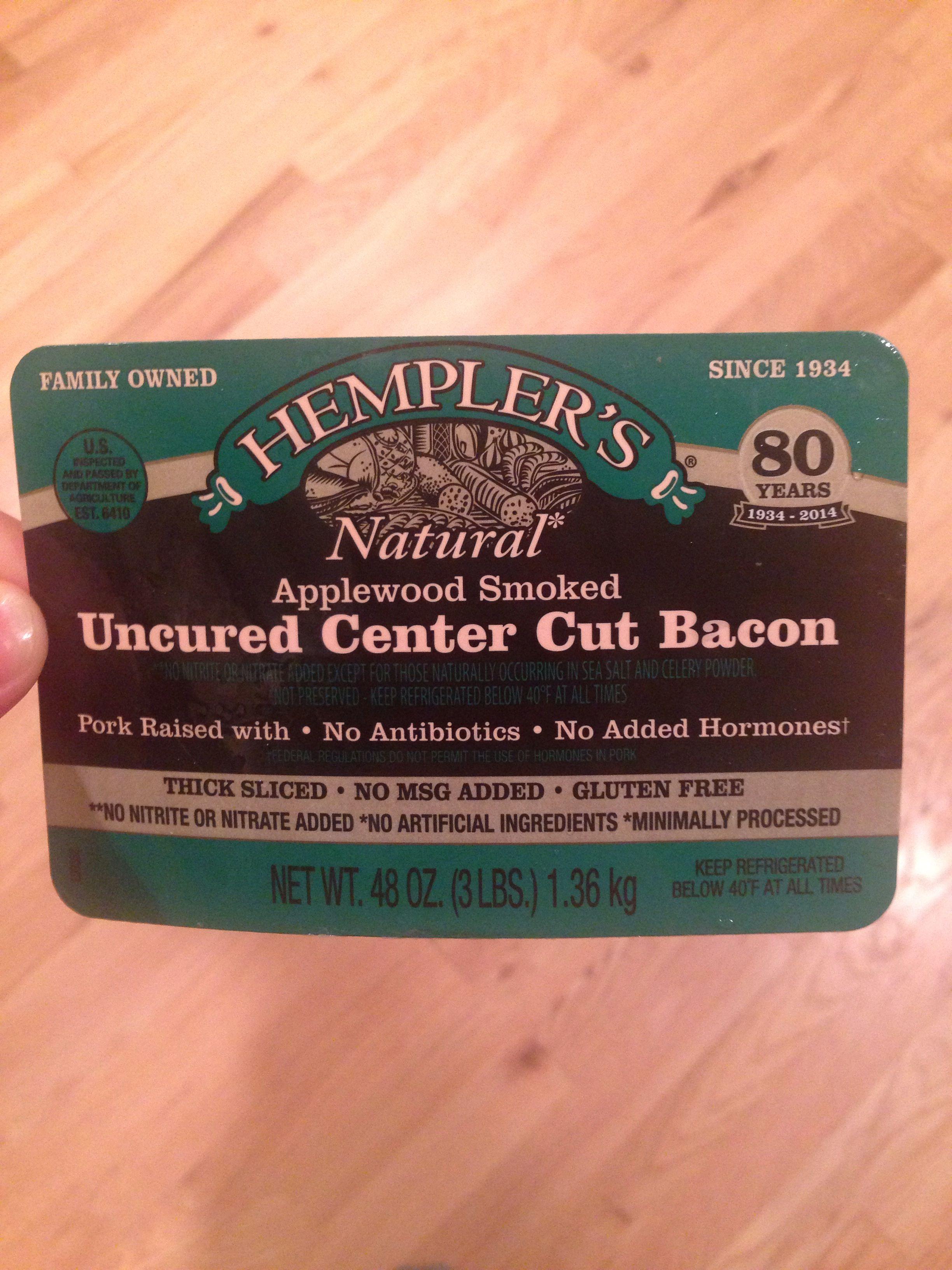 Costco bacon has organic honey however less than 1 gram