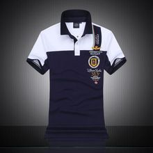 Summer New 2016 Brand POLO Air Force One Embroidery Men'S Aeronautica Militare Men Shirts Diamond Fashion Shark Clothing(China (Mainland))