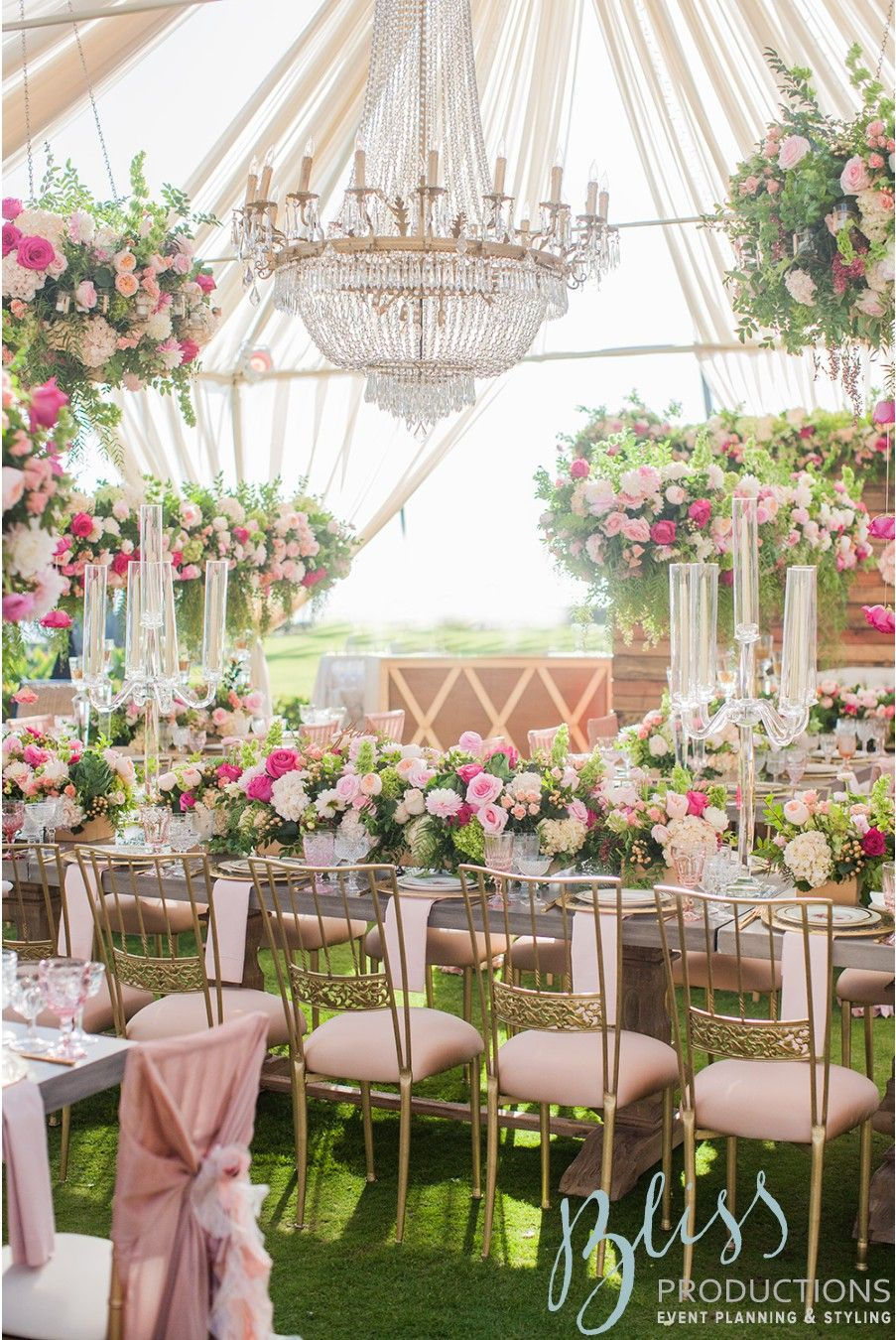 Designed and planned by bliss productions l elegant summer country