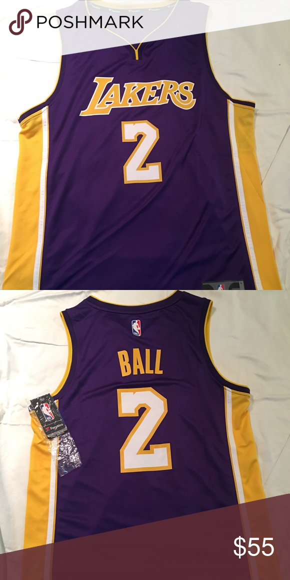 on sale 5d1c8 c49f0 LA Lakers Lonzo Ball Jersey Brand new with tags Never worn ...