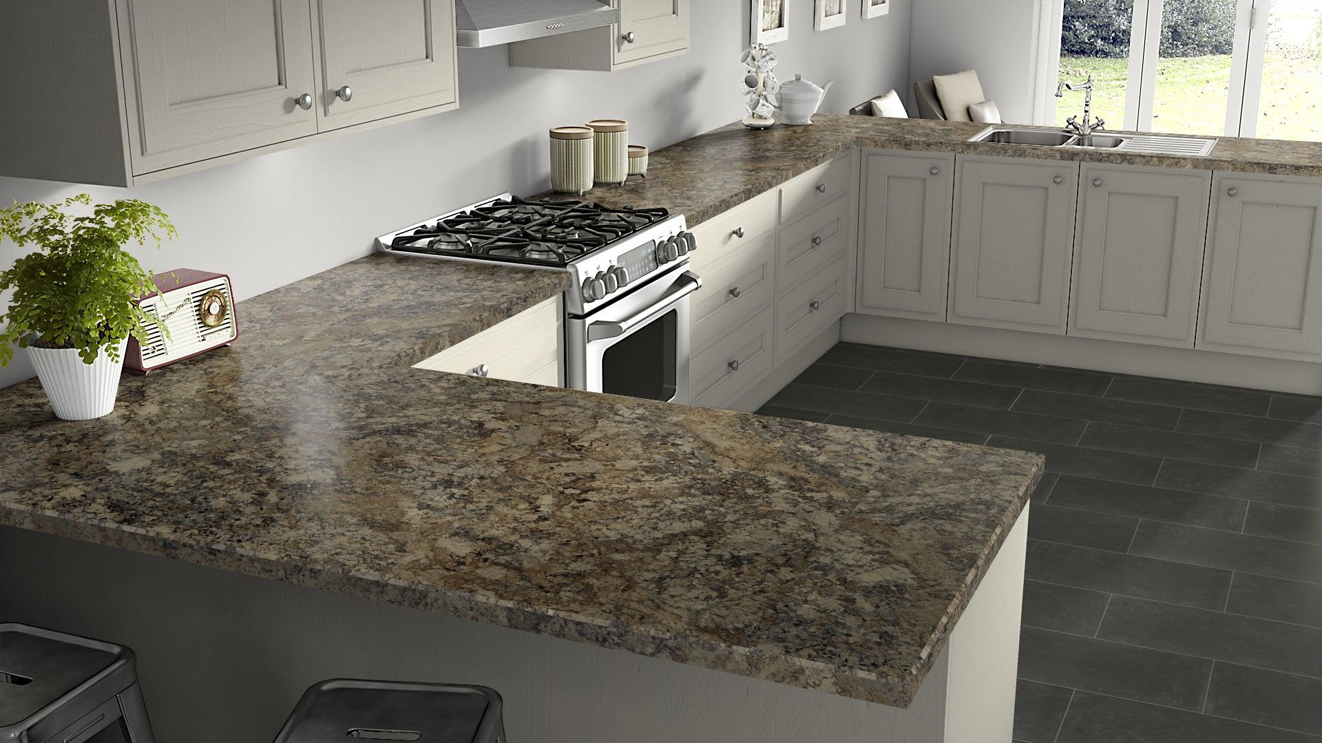 Winter Carnival Mirage Finish Get Inspired For Your Kitchen