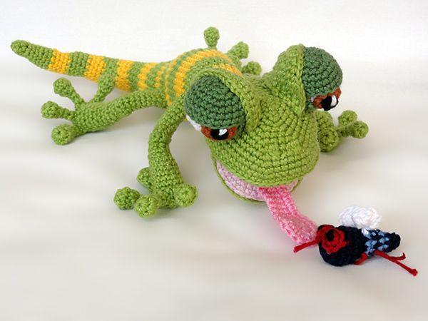 Amigurumi Pattern Net : Giorgio the gecko amigurumi pattern by ildikko geckos amigurumi