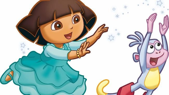 Dora the Explorer The teen who provides the voice for Dora The