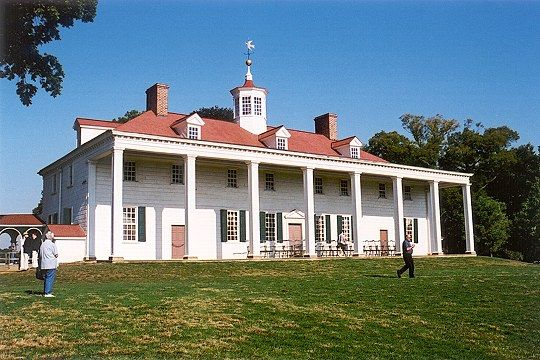 Mount vernon located near alexandria virginia was the for George washington plantation