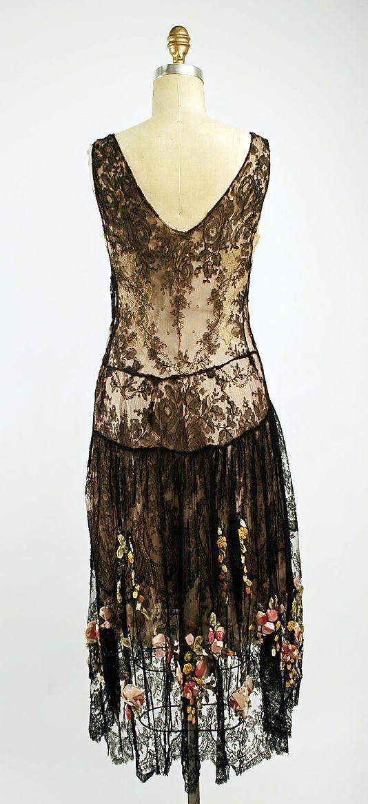 Evening dress, 1920s   Haughty NoBody   Pinterest   1920s, Flappers ...