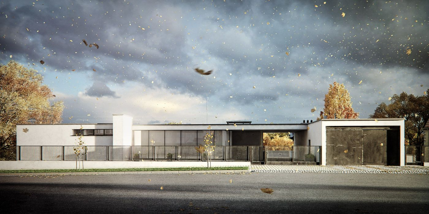 VrayWorld Villa Tugendhat PS Rendering Architecture