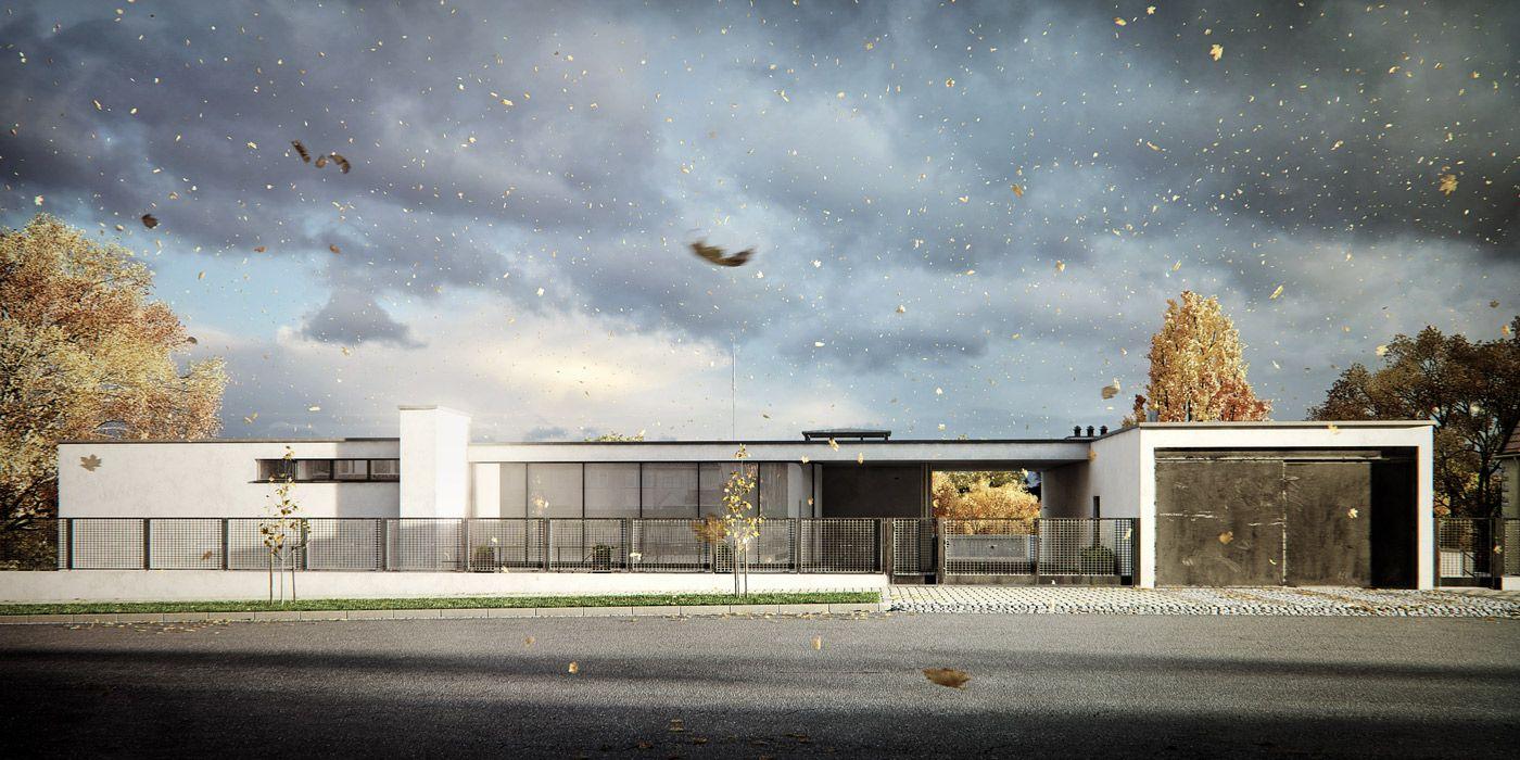 VrayWorld Villa Tugendhat 3d architectural