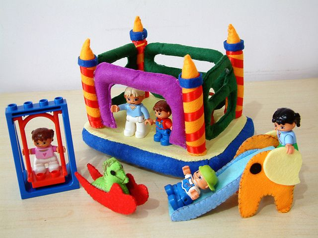 felt toys pattern--Carnie by fairyfox, via Flickr
