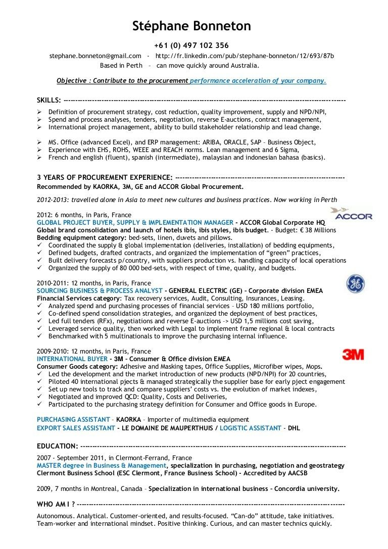 Work Experience Resume Sample Seven Taboos About Work